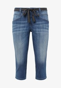 TOM TAILOR - Vaqueros pitillo - blue denim - 6
