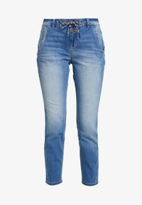 TOM TAILOR - Jeans Relaxed Fit - used mid stone blue denim - 3