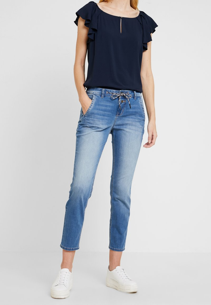 TOM TAILOR - Jeans Relaxed Fit - used mid stone blue denim