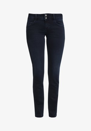 CARRIE - Jean slim - dark stone blue/black denim