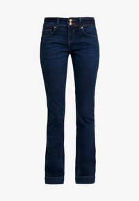 TOM TAILOR - ALEXA - Jeans Bootcut - mid stone bright blue denim - 4