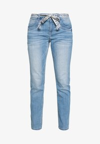 TOM TAILOR - TAPERED - Džíny Relaxed Fit - light stone wash denim blue - 3
