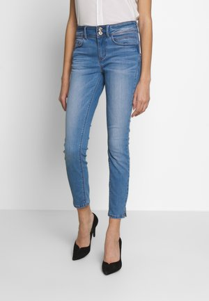 ALEXA - Skinny džíny - light stone wash denimm blue