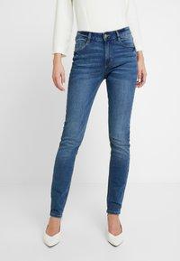 TOM TAILOR - KATE - Skinny džíny - denim blue - 0