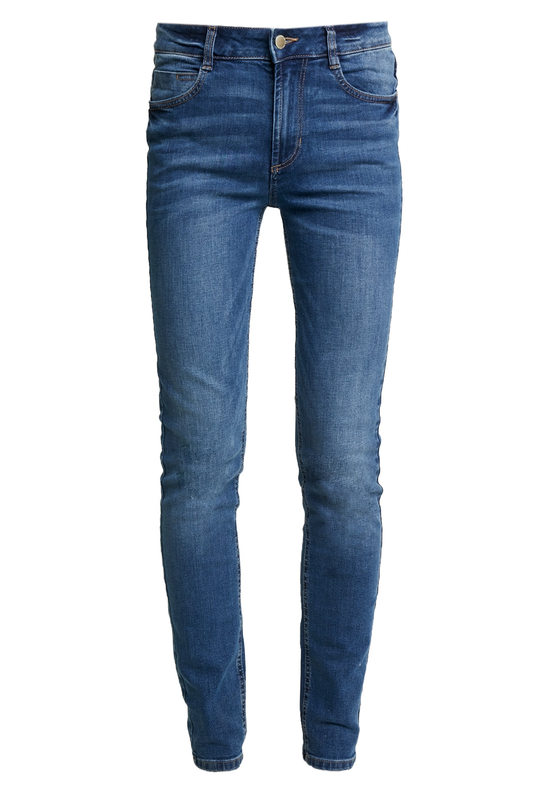 TOM TAILOR KATE - Jeansy Skinny Fit - denim blue