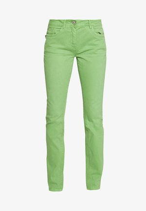 TOM TAILOR ALEXA SLIM - Džíny Slim Fit - sundried turf green