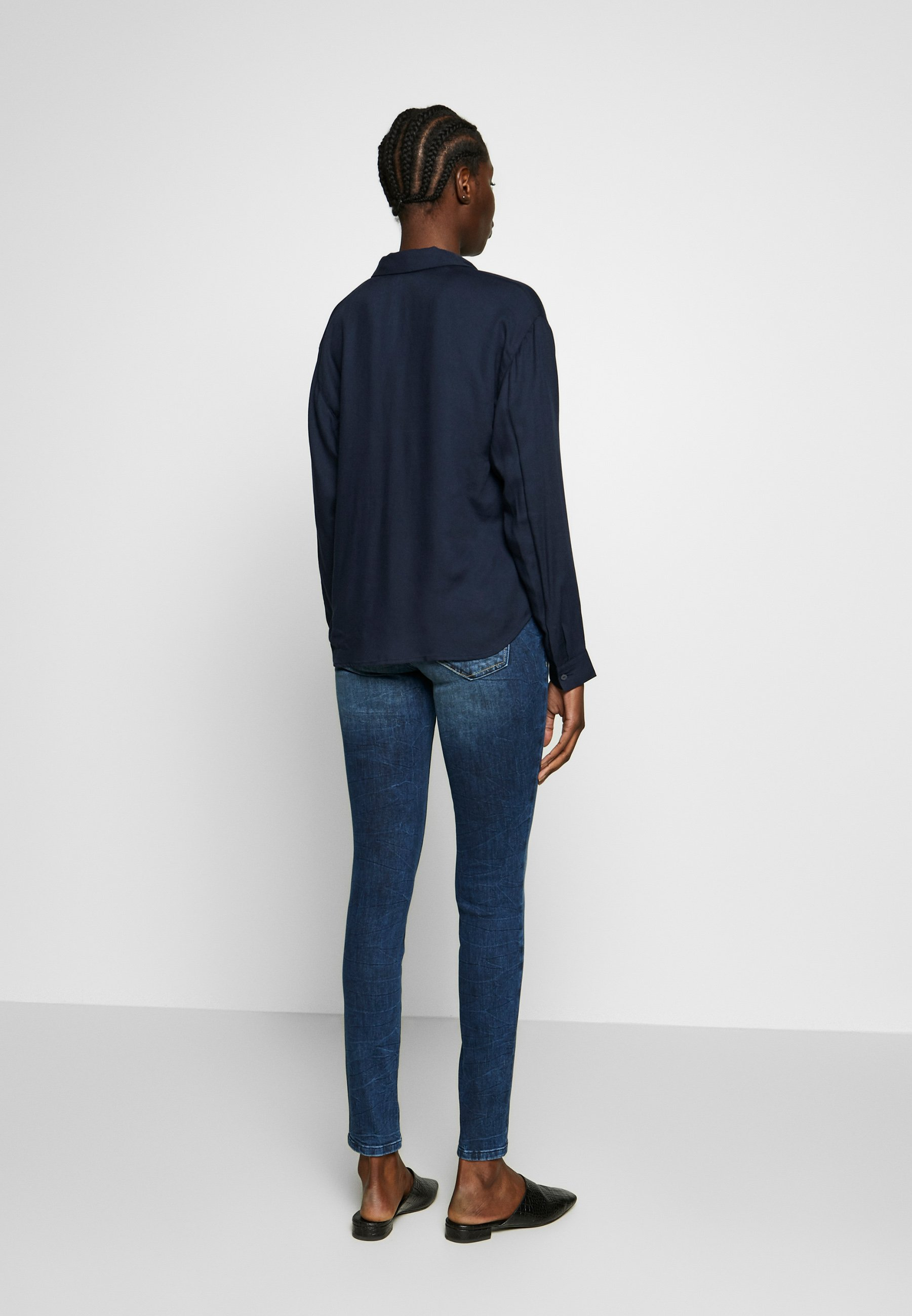 TOM TAILOR ALEXA - Jeansy Skinny Fit - random bleached  blue denim