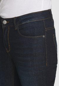 mine to five TOM TAILOR - WASH - Jeansy Skinny Fit - rinsed blue denim - 4