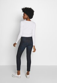 mine to five TOM TAILOR - WASH - Jeansy Skinny Fit - rinsed blue denim - 2