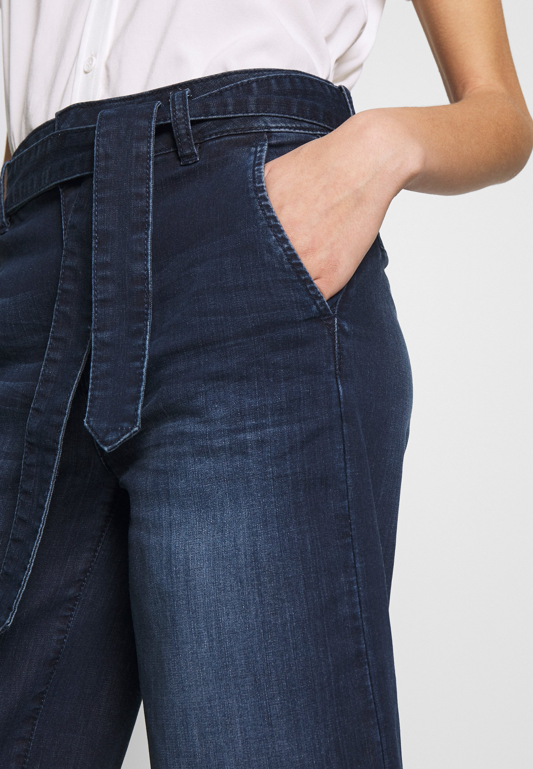 TOM TAILOR DENIM CULOTTE - Jeansy Relaxed Fit - blue
