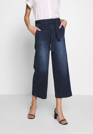 DENIM CULOTTE - Jeans Relaxed Fit - blue