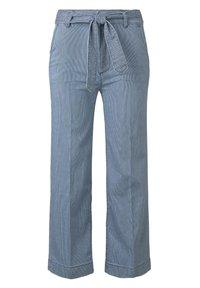 TOM TAILOR - DENIM CULOTTE - Flared Jeans - blue - 0