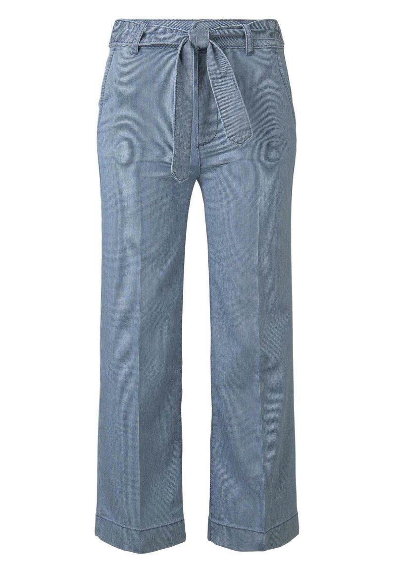 TOM TAILOR - DENIM CULOTTE - Flared Jeans - blue