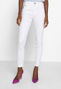 TOM TAILOR - KATE - Jean slim - white - 0