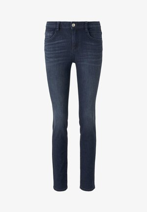 ALEXA  - Slim fit jeans - dark blue denim