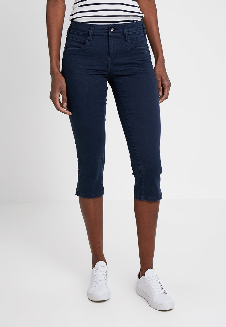 TOM TAILOR - ALEXA CAPRI - Jeans Shorts - sky captain blue