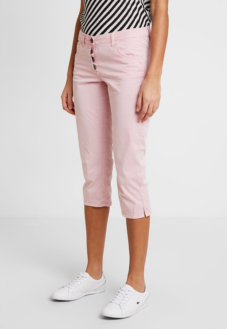 TOM TAILOR - TAPERED RELAXED - Kraťasy - soft pink