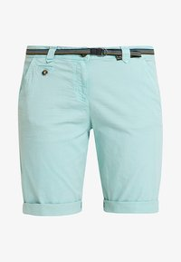 TOM TAILOR - CHINO BERMUDA - Szorty - canton green - 4