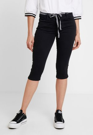 ALEXA CAPRI - Short - deep black/grey