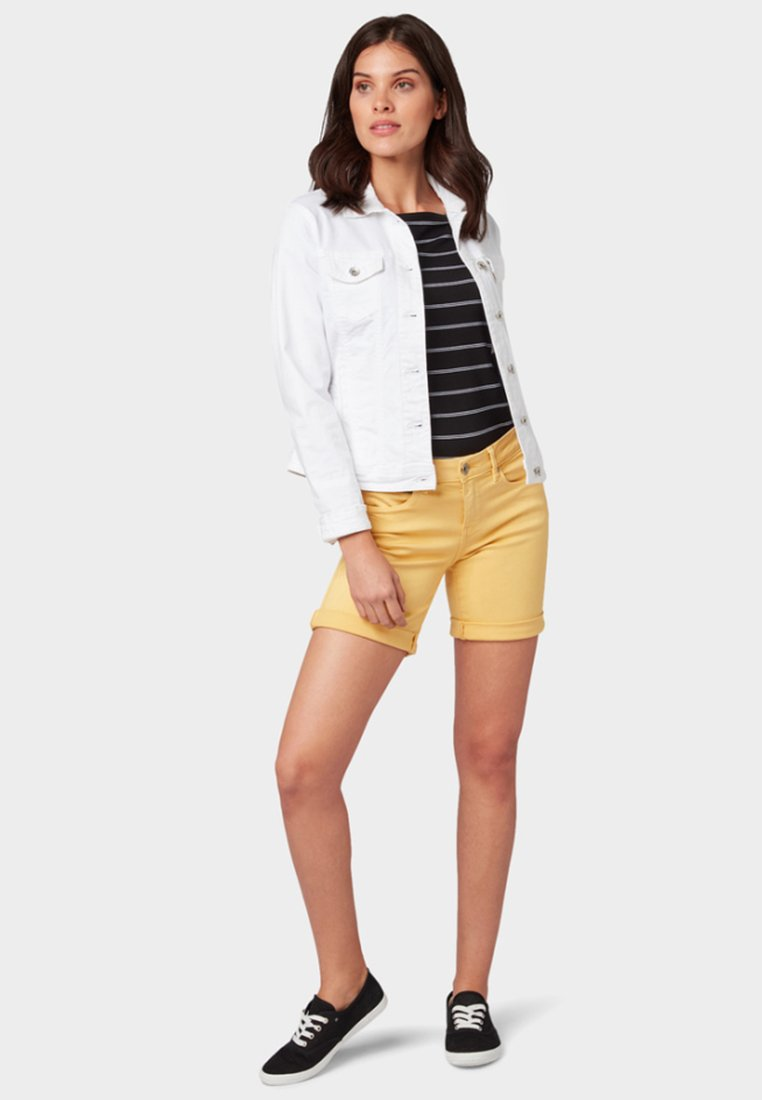 Tom Tailor Denim Shorts - Yellow