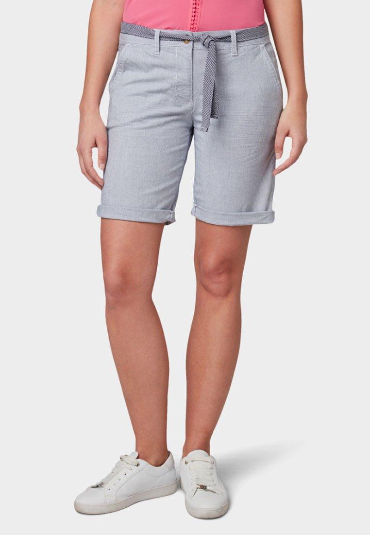 TOM TAILOR - CHINO BERMUDA - Shorts - light grey