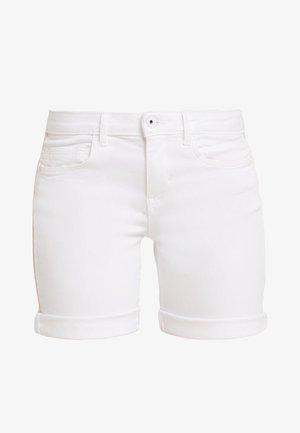 ALEXA BERMUDA - Jeansshorts - white