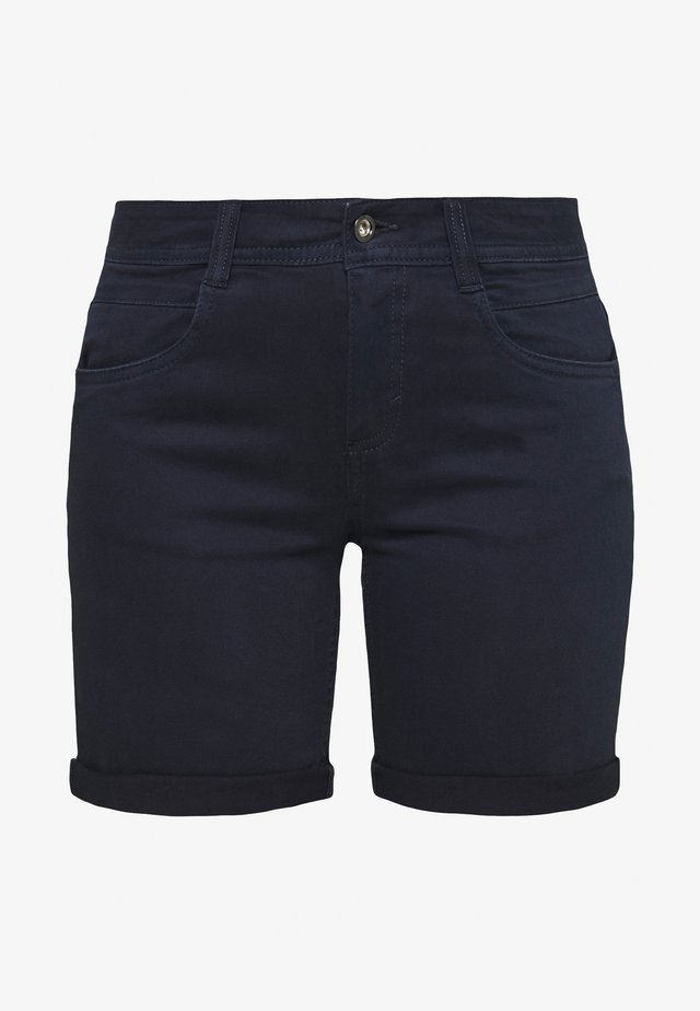 ALEXA BERMUDA - Denim shorts - sky captain blue