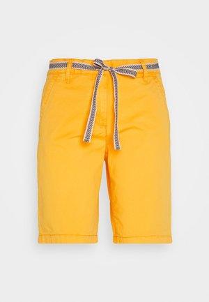 Shorts - deep golden yellow