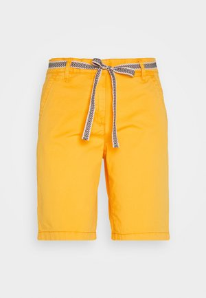 Szorty - deep golden yellow
