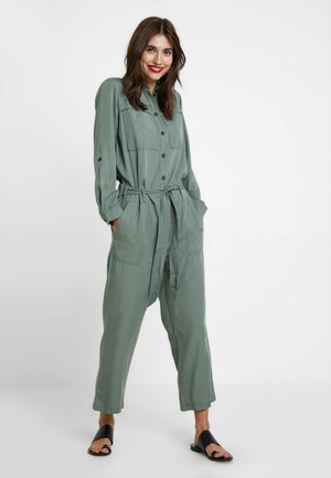 MY CASUAL - Jumpsuit - pale bark green