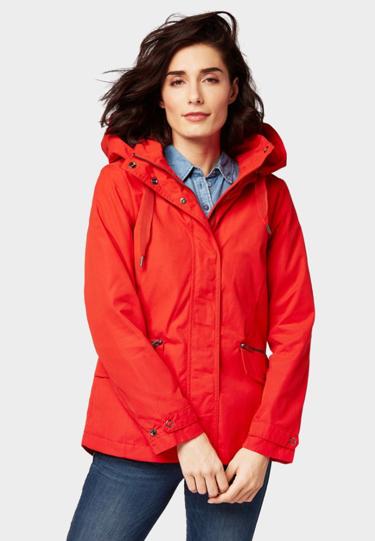 TOM TAILOR - EVERYDAY - Parka - brilliant red
