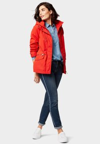 TOM TAILOR - EVERYDAY - Parka - brilliant red - 1