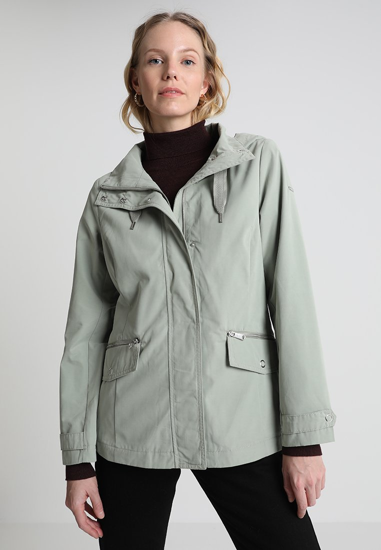 TOM TAILOR EVERYDAY - Parka prairie grass green