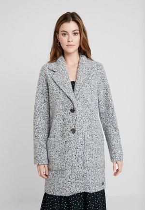DOUBLEFACE COAT - Abrigo corto - light silver grey mélange
