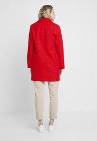 TOM TAILOR - DOUBLEFACE COAT - Cappotto corto - brilliant red - 2