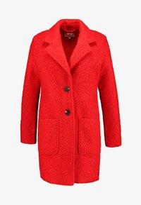TOM TAILOR - DOUBLEFACE COAT - Cappotto corto - brilliant red - 4