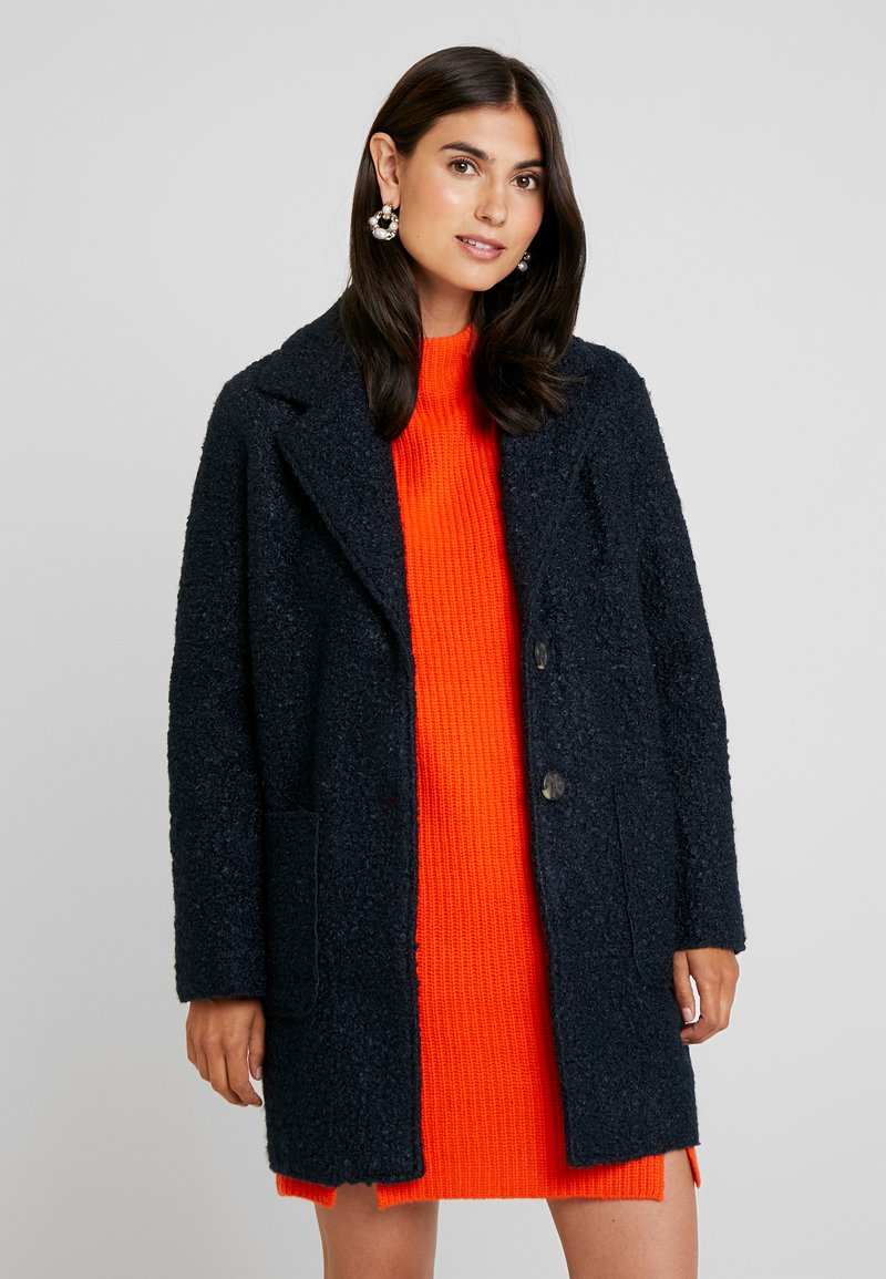 TOM TAILOR - DOUBLEFACE COAT - Short coat - sky captain blue