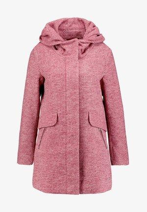 WINTERLY COAT - Zimní kabát - rose/mauve/purple