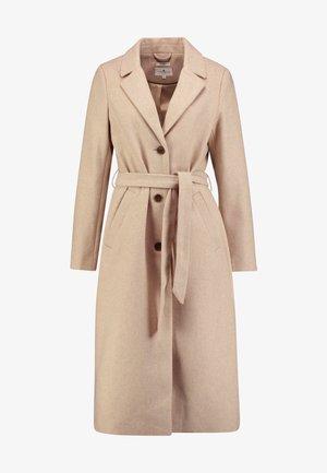 TRENDY LONG COAT - Zimní kabát - light camel melange/brown