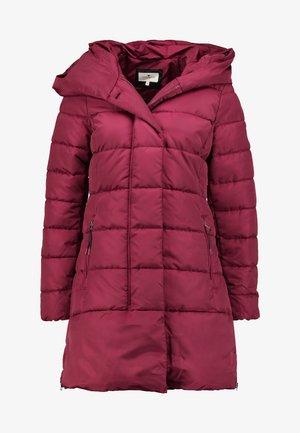 COLD WINTER PUFFER - Zimní kabát - tile red