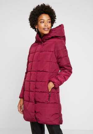 COLD WINTER PUFFER - Winter coat - tile red