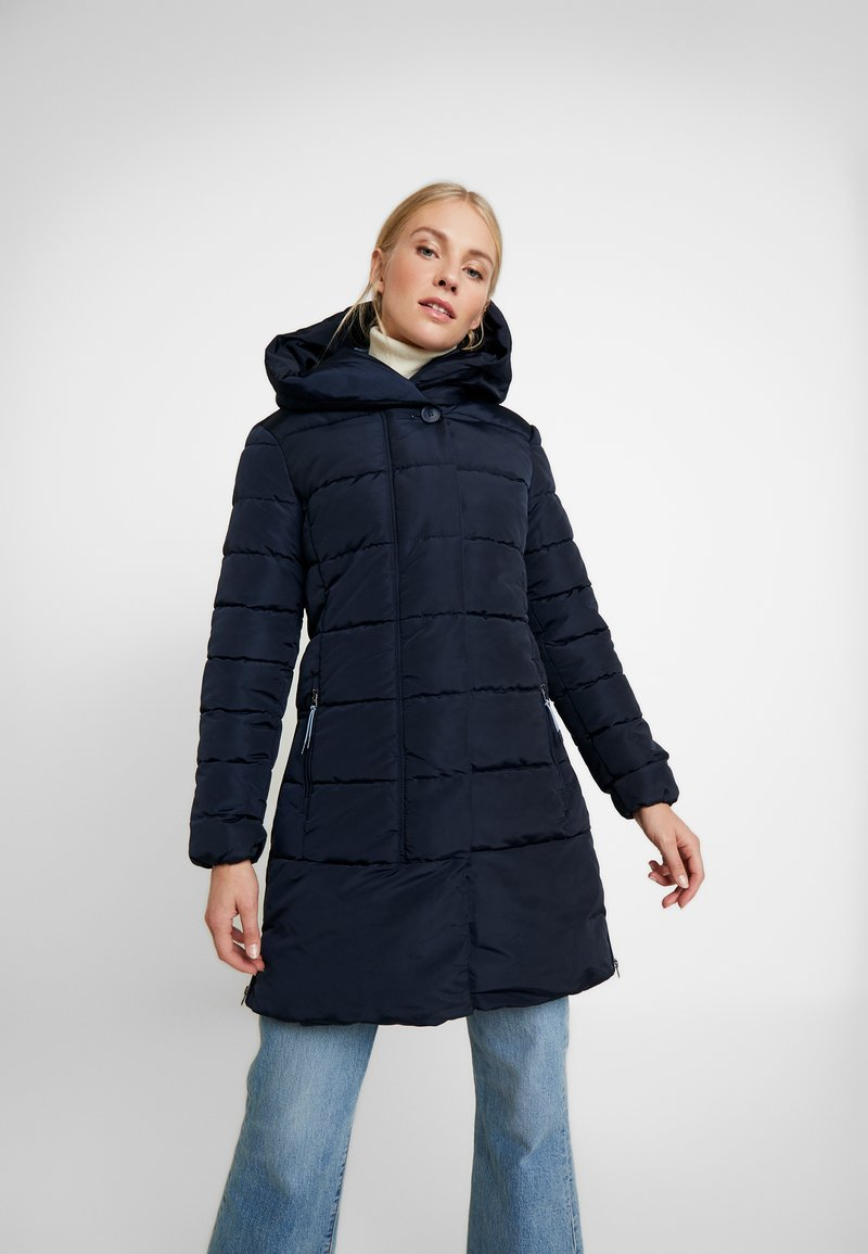 TOM TAILOR - COLD WINTER PUFFER - Vinterkåpe / -frakk - sky captain blue