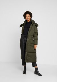 TOM TAILOR - PUFFER  - Vinterkåpe / -frakk - woodland green - 1