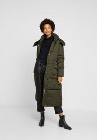 TOM TAILOR - PUFFER  - Winter coat - woodland green - 1