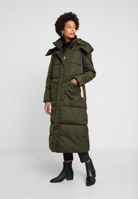 TOM TAILOR - PUFFER  - Winter coat - woodland green - 0