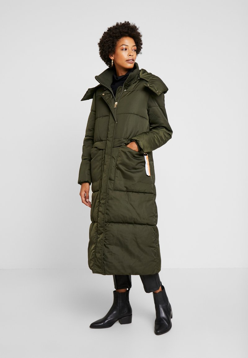 TOM TAILOR - PUFFER  - Vinterkåpe / -frakk - woodland green