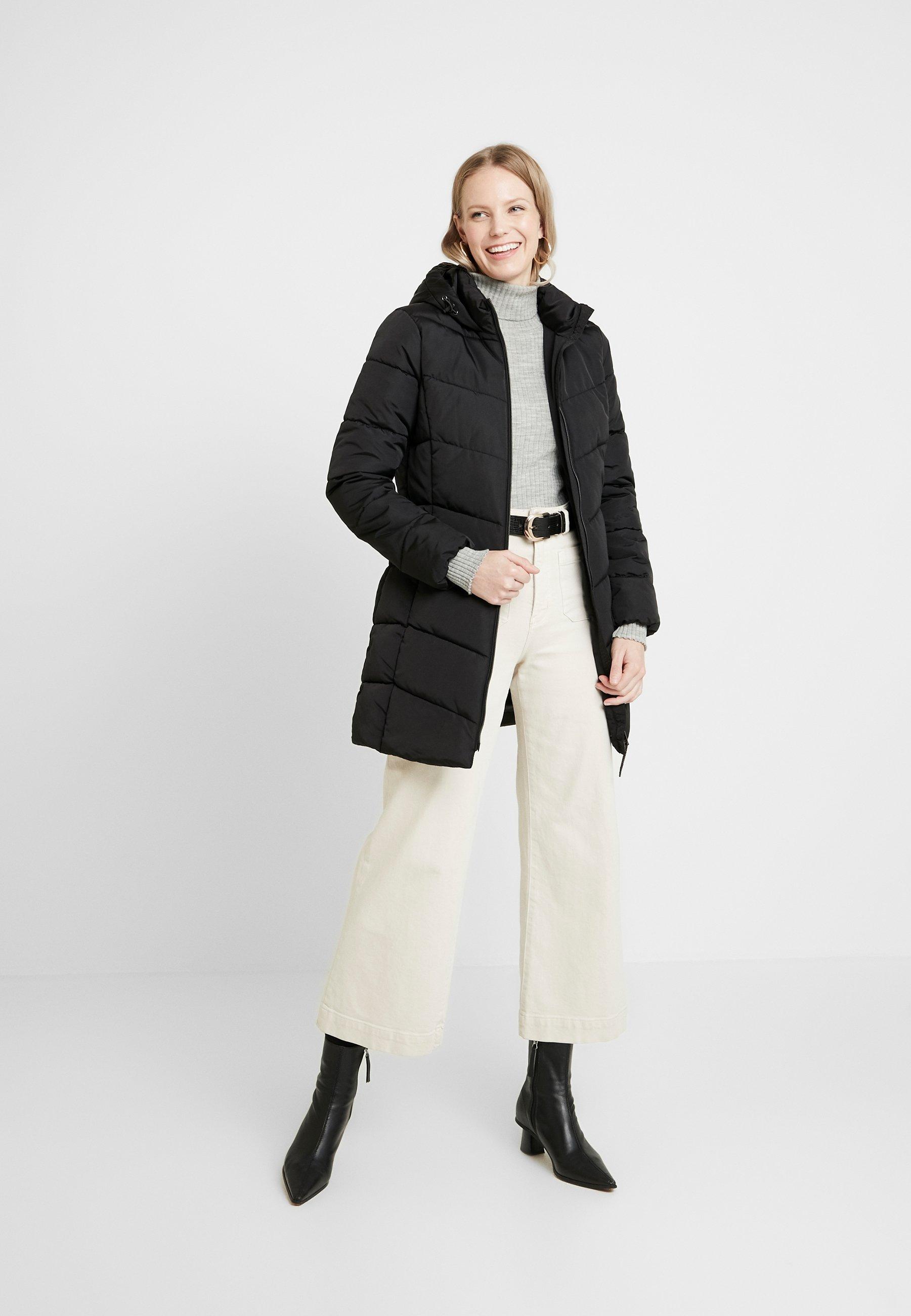 TOM TAILOR CASUAL PUFFER COAT - Płaszcz zimowy - black