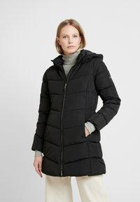 TOM TAILOR - CASUAL PUFFER COAT - Abrigo de invierno - black - 0