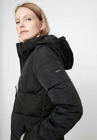 TOM TAILOR - CASUAL PUFFER COAT - Abrigo de invierno - black - 5