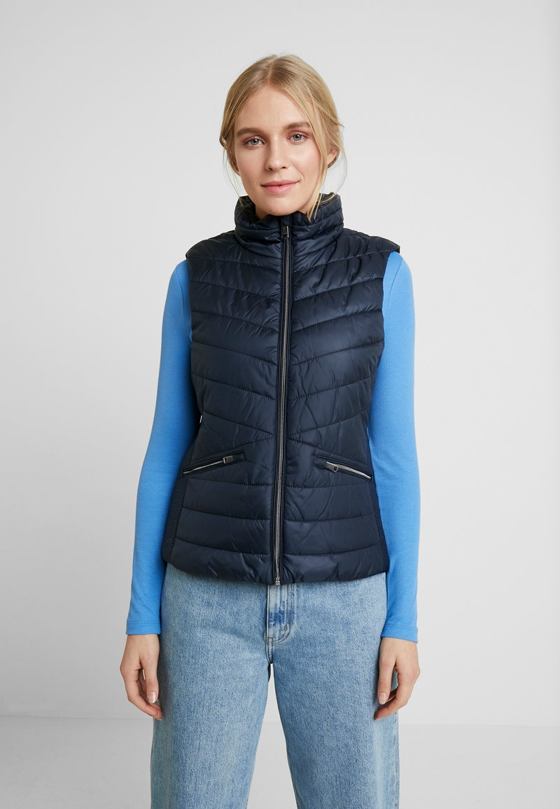 TOM TAILOR - ULTRA LIGHTWEIGHT VEST - Smanicato - sky captain blue